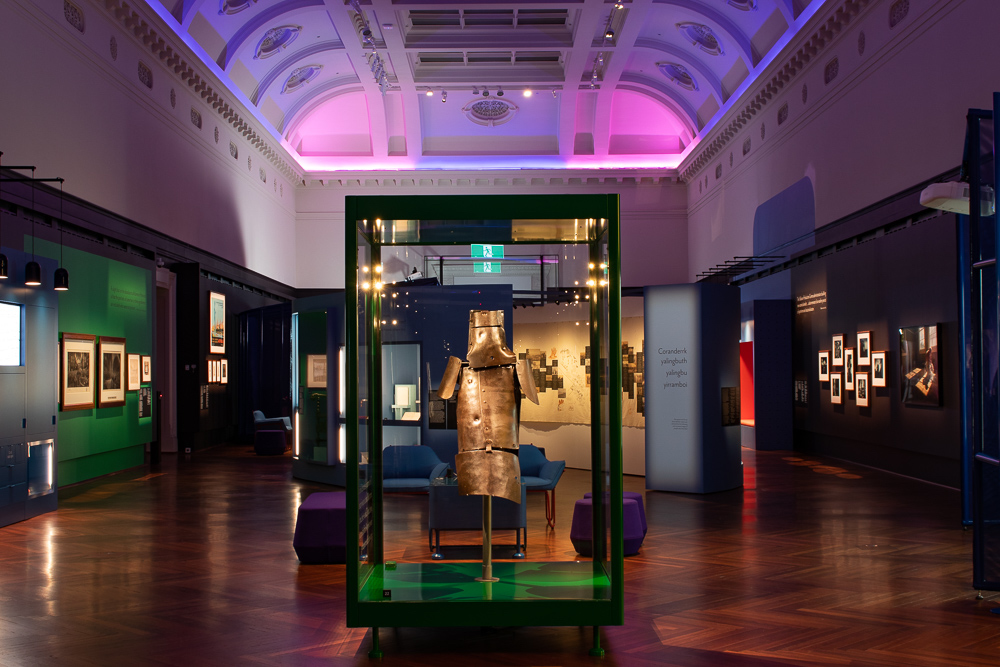 bluebottle supply lighting control for the  State Library's refurbished Victoria Gallery